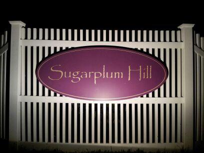 Sugarplum Hill Sign